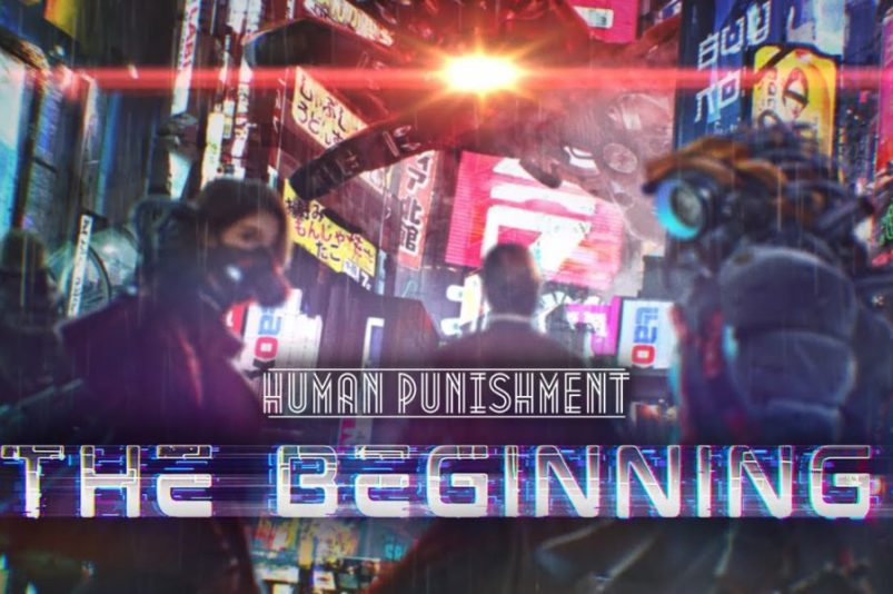 Human Punishment: The Beginning gra planszowa cyberpunk