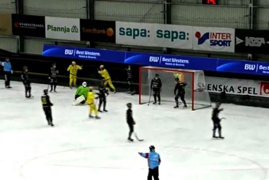 TV: Vetlanda vann mot Gripen – Anderssson tremålsskytt