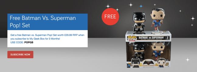 free gifts geek box
