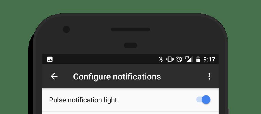 notification led light Google Pixel