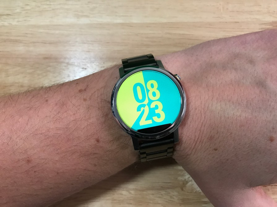 invert watch face
