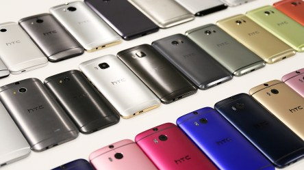 5_Collection of previous HTC metal design smartphones