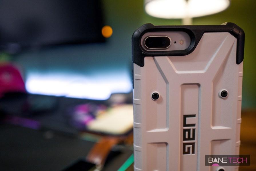 new arrival 79810 e298c iPhone 8 Plus Case Review: UAG Pathfinder White - Bane Tech