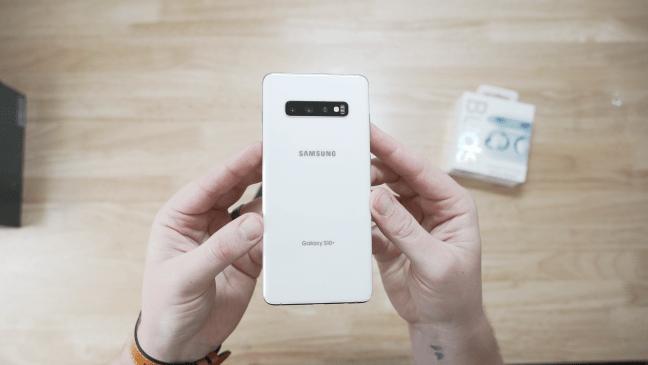 Samsung Galaxy S10 Plus Ceramic White 1TB 12GB Ram Unboxing