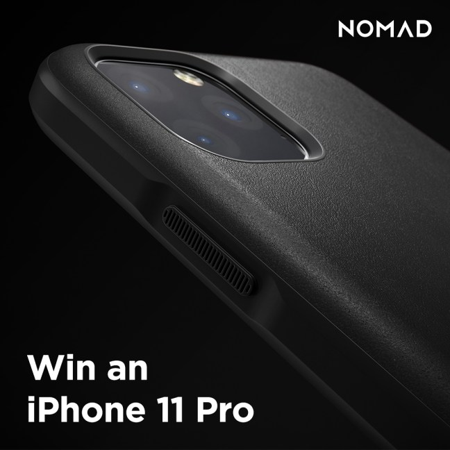 win an iPhone 11 Pro