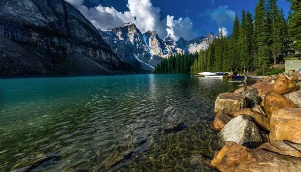 Tours On Lake Louise And Moraine Lake Alberta Banff