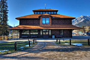 Banff Park Museum: a great place for the whole family in Banff, Alberta.