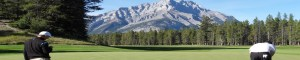Golfers Fairmont Banff Springs