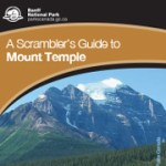 Scrambling Mt Temple English