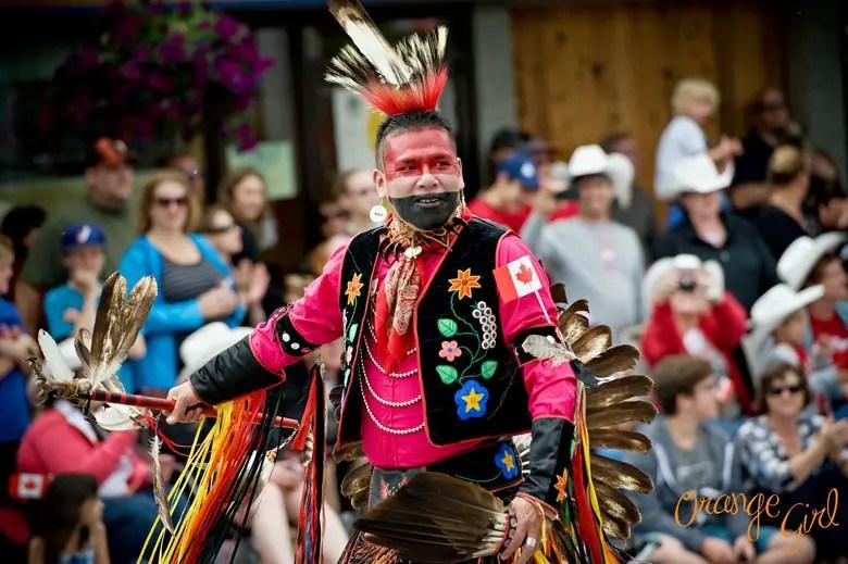 Canada Day Parade Banff National Park