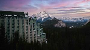 rimrock resort hotel banf