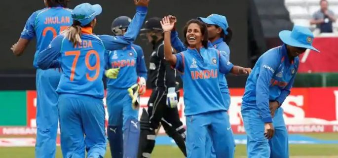 India beat New Zealand by 34 runs in Women's World T20