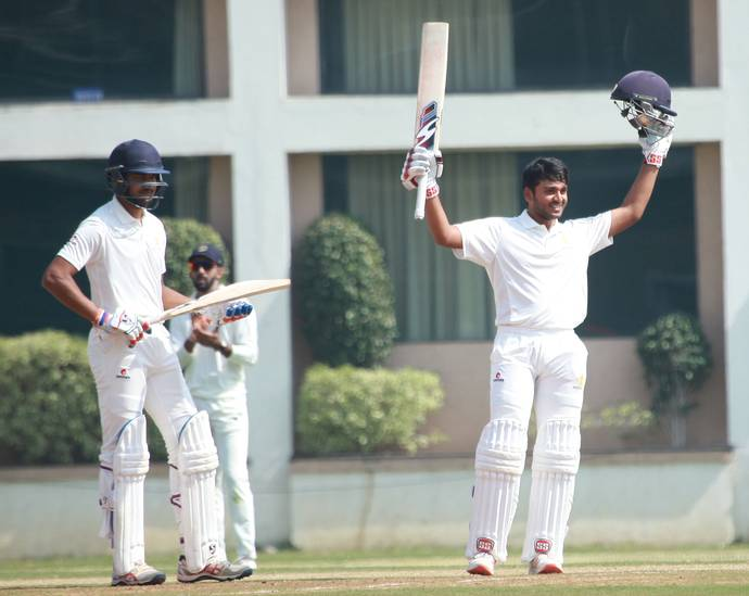Nischal and sharath pulled Karnataka in Ranji Trophy aganist vidharbha