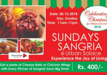 Sangria Sundays @ Urban Solace
