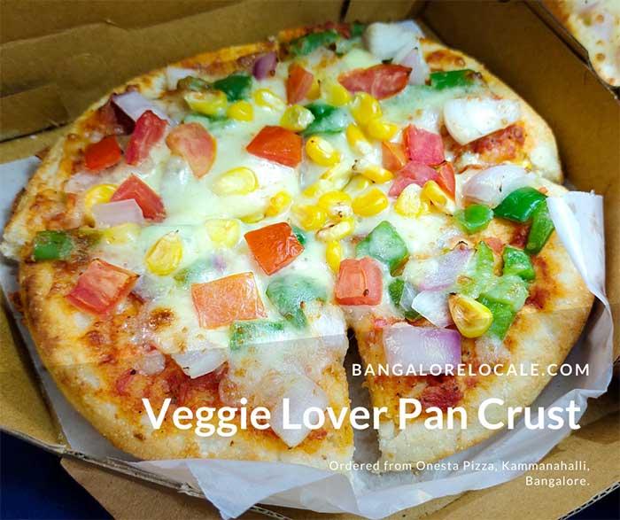 Veggie Lover Pan Crust