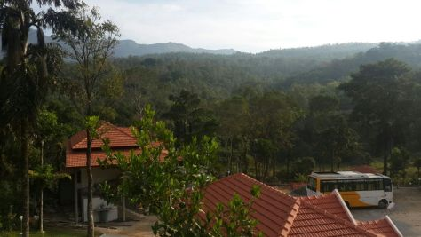 Mallandur-home stay-Chikmagalur-Hill-View