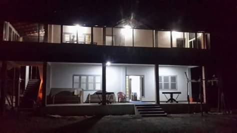 Mallandur-home stay-Chikmagalur-Mega-Room-Night-View