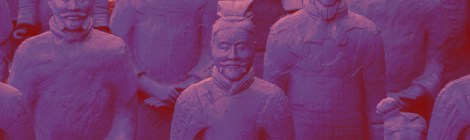 we'll always have Terracotta Warriors dusted in Han Purple, never looking behind