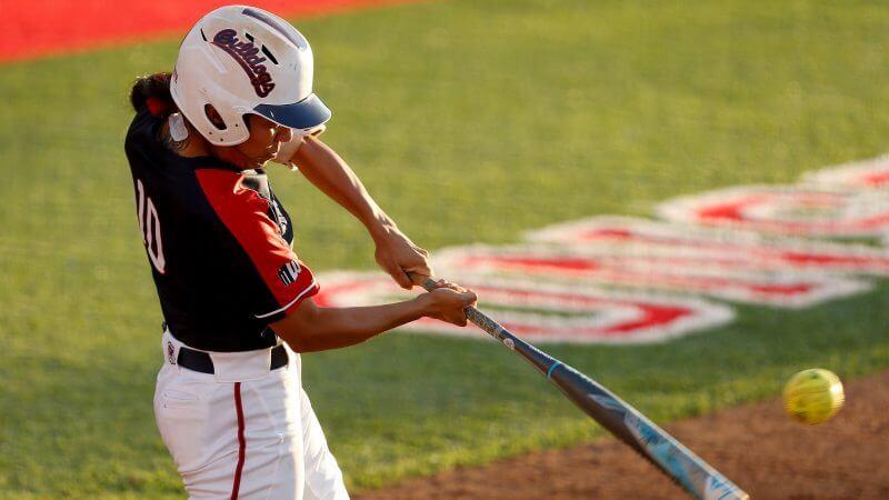 teknik dasar permainan softball