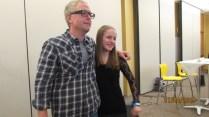 TM Goeglein and happy teen