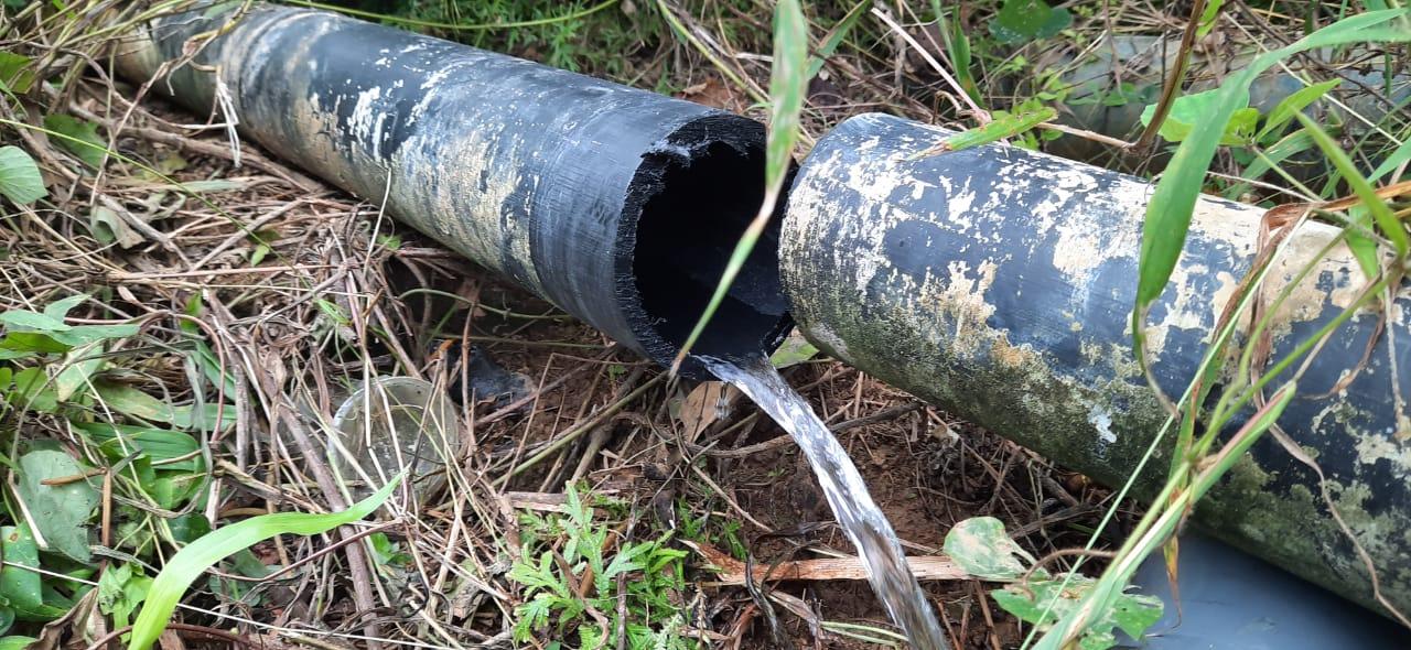 Debit Air Rendah, Proyek Air Bersih Milyaran Rupiah Diduga Bermasalah