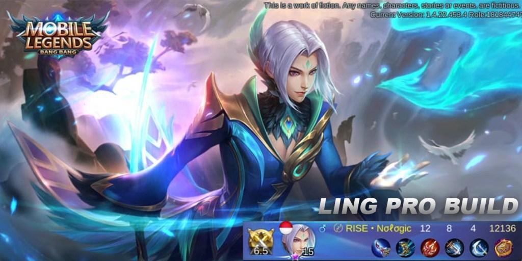 Ling Hero Mobile Legends Build