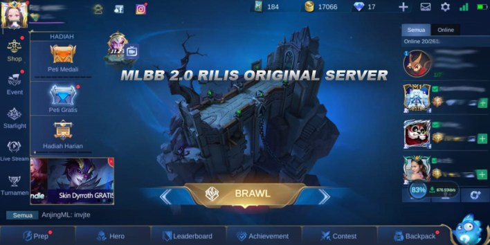 Mobile Legends MLBB 2.0 Server Ori