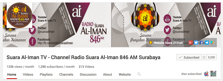 ceramah islam sesuai sunnah belajar agama islam di suara al-iman
