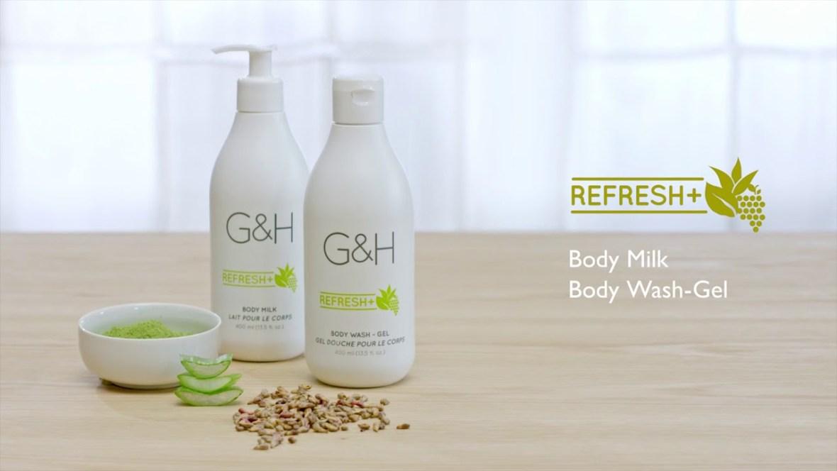Thành phần có trong Sữa Tắm Amway G&H Refresh+ (400ml)