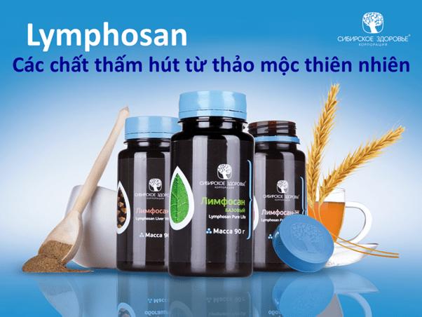 Thực phẩm bảo vệ sức khỏe Lymphosan Intestinal Defense.