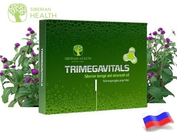 Thực phẩm chức năng Trimegavitals Siberian linseed oil and omega – 3 concentrate