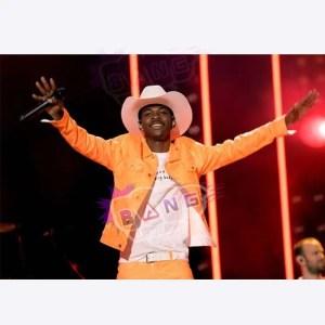 Get Lil Nas X Old Town Road Vintage Orange Leather Jacket