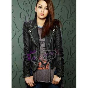 Buy How To Get Away With Murder Katie Findlay Distressed Leather Jacket