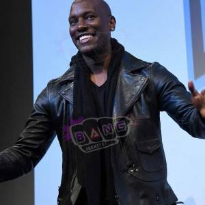 Buy Fast And Furious Tyrese Gibson Mens Black Real Leather Slim Fit Jacket