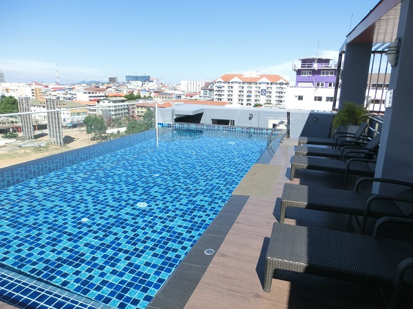 パタヤ ホテル 247 Boutique Hotel Rooftop pool