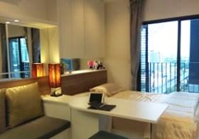 Ideo Mobi Rama 9 – studio condo for rent near Rama 9 MRT, 15k