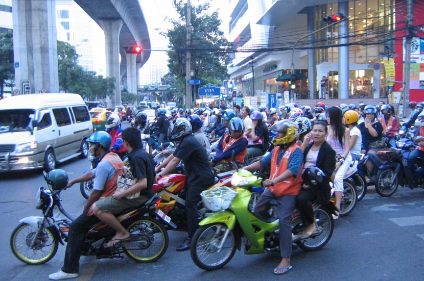 Motorcycles in Bangkok