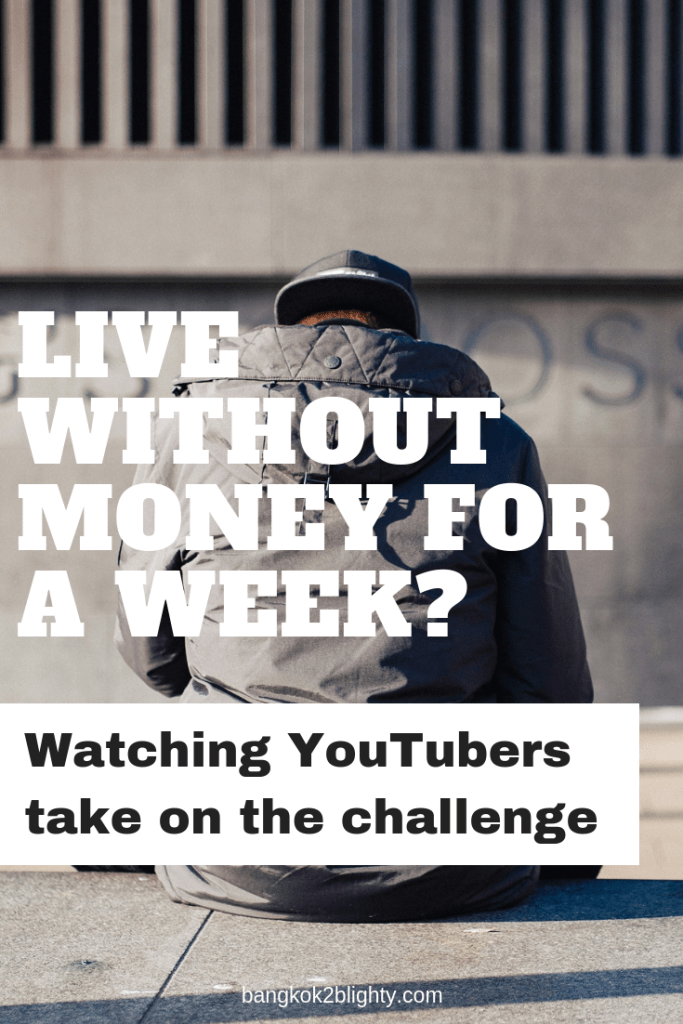 Live without money for a week