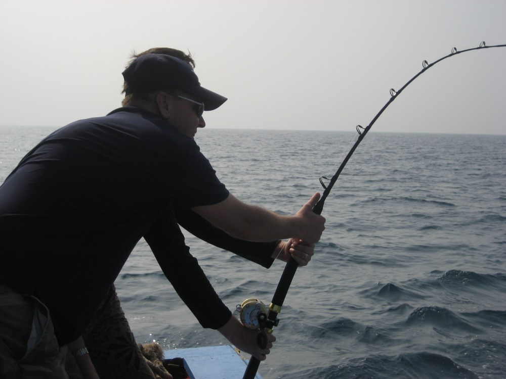 Trip report: Saltwater fishing in the Gulf of Thailand (5/6)