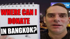 Where's the best place to donate in Bangkok? [The Mirror Foundation!]