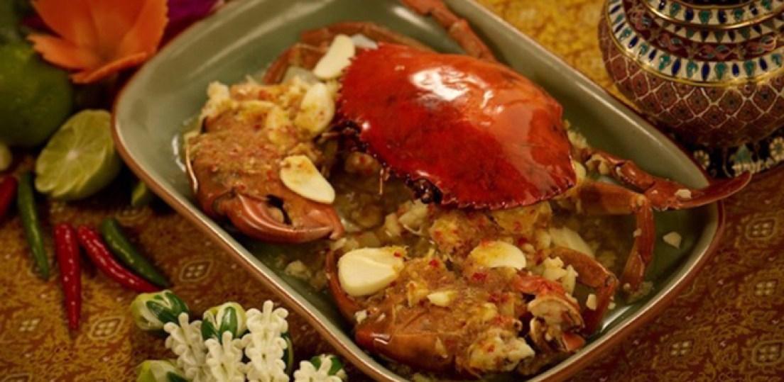 Bangkok Tour - Thai Dish Curried Crab