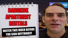 Bangkok apartment rentals: Watch this video before you sign anything!