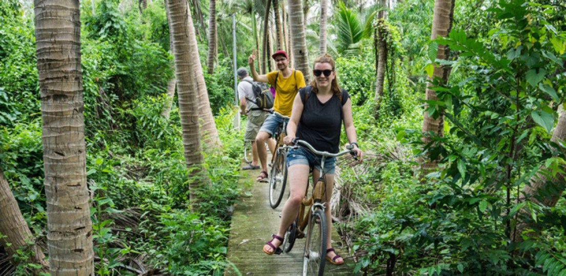Bangkok Tour - Bangkok Bicycle Tour [Bang Krachao]