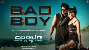 Bad Boy Full Song Lyrics - Saaho