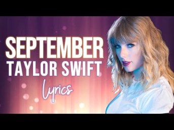 September Full Song Lyrics - Taylor Swift