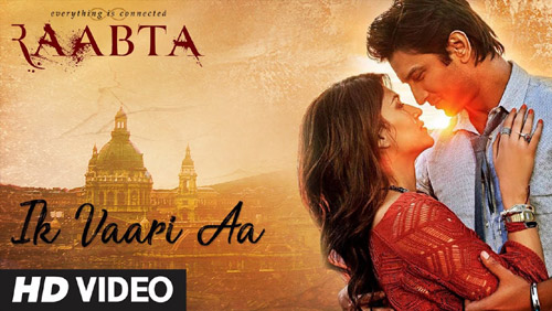 Ik Vaari Aa Full Lyrics Song – Raabta - Arijit Singh