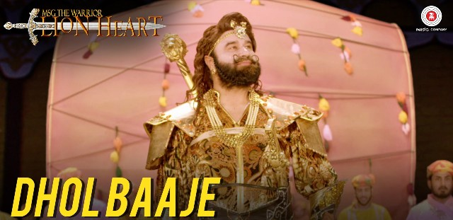 Dhol-Baaje-MSG-Lion-Heart-Song