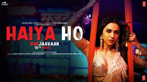 HAIYA HO Full LYRICS Song - Marjaavaan