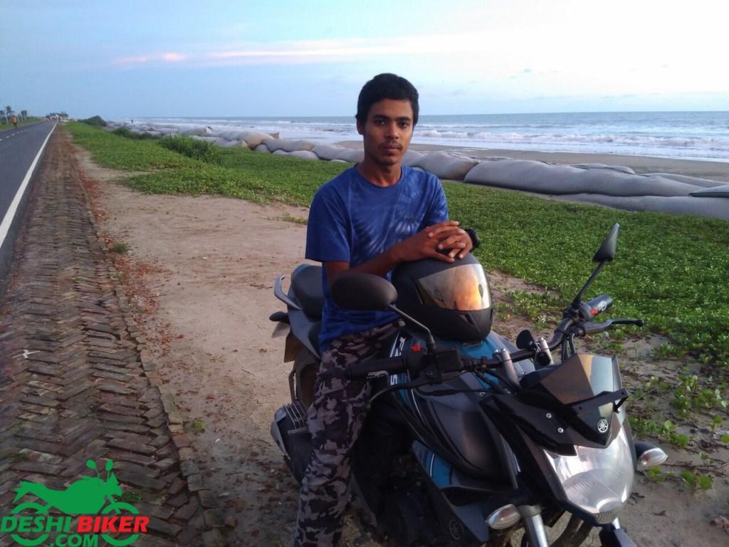 Yamaha FZs V2 Rider