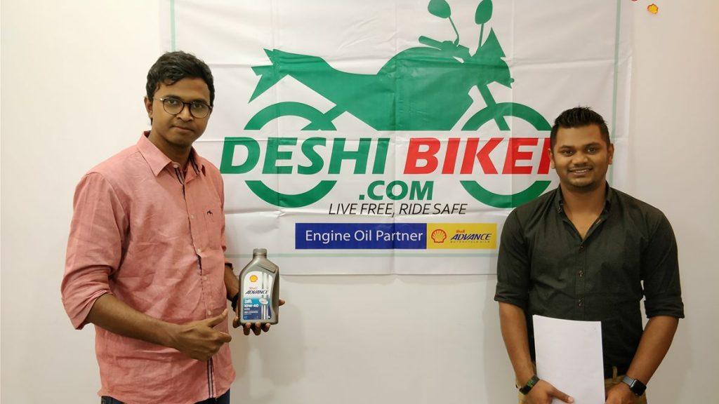 Shell Bangladesh Partner DeshiBiker.com